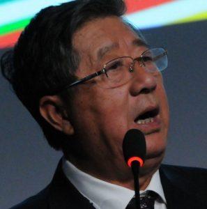 """Wang Xianxheng, presidente da Associação Nacional de Carvão da China: """"Queremos promover a utilização limpa do carvão e reduzir o nível de emissões de carbono do setor"""". Foto: Leo Pinheiro / Valor"""
